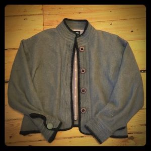 Venesha High Quality Angora jacket coat blazer M